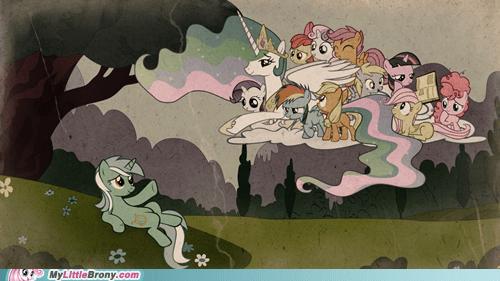 art michelangelo the creation of ponies - 6510622720