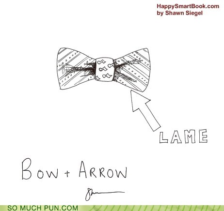 arrow,bow,bow and arrow,double meaning,literalism