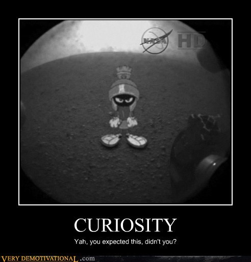 curiosity,hilarious,Mars,marvin the martian,rover