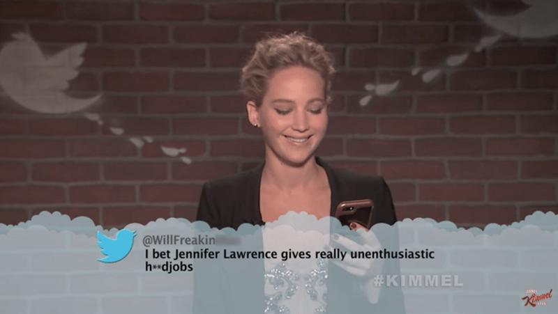 Celebrities Mean Tweets