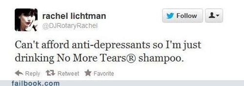 alcoholic alcoholism depression shampoo twitter - 6511054848