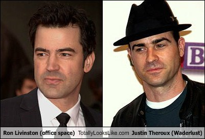 actor celeb funny justin theroux ron livingston TLL - 6511132672