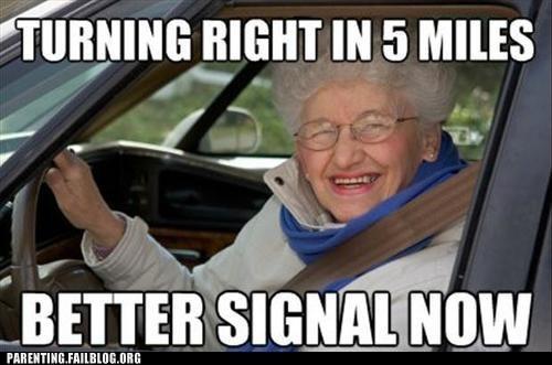 driving grandma old lady - 6511186688