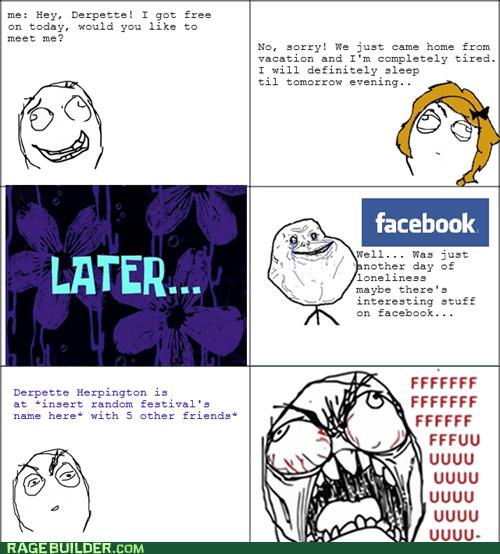 facebook forever alone fu guy relationships - 6511244288