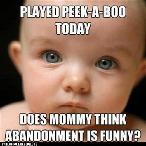 abandonment baby peek a boo - 6511245056