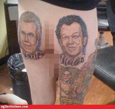 butt tattoos john c reilly Will Ferrell