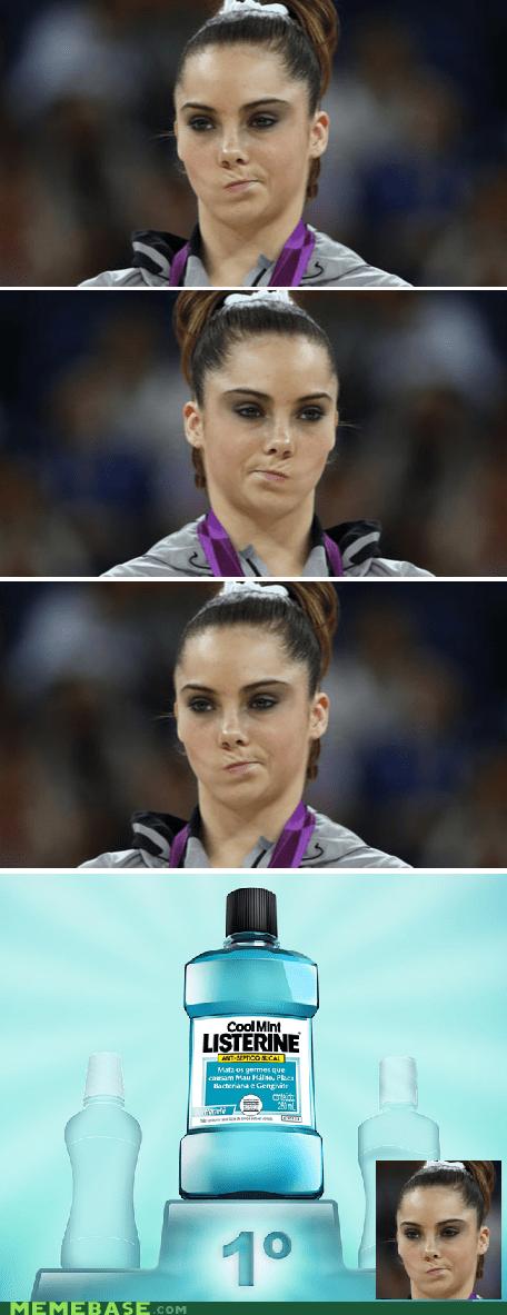 listerine,mckayla,Memes,mouthwash,olympics