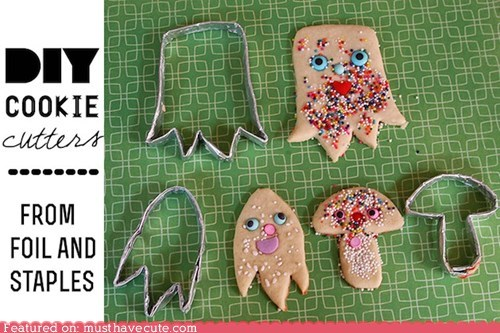 cookie cutters cookies DIY epicute instructions - 6511438592