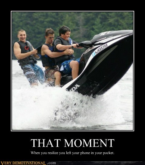 bad idea idiots jet ski phone - 6511489024