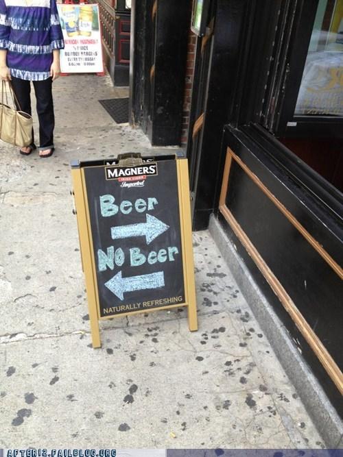 bars beer no beer simple choice - 6511494912