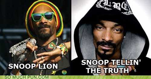 lying,opposites,similar sounding,snoop dogg,snoop lion
