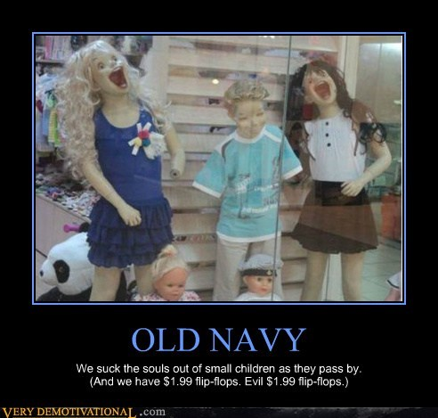 evil mannequin old navy Terrifying - 6511966208