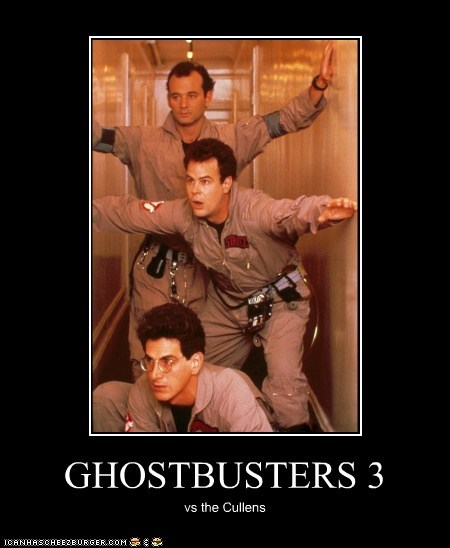 GHOSTBUSTERS 3 vs the Cullens