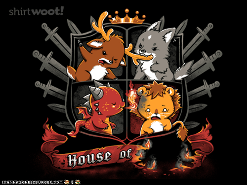 Cute Game of Thrones shirt