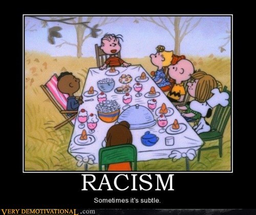 charlie brown hilarious racism subtle - 6512508672