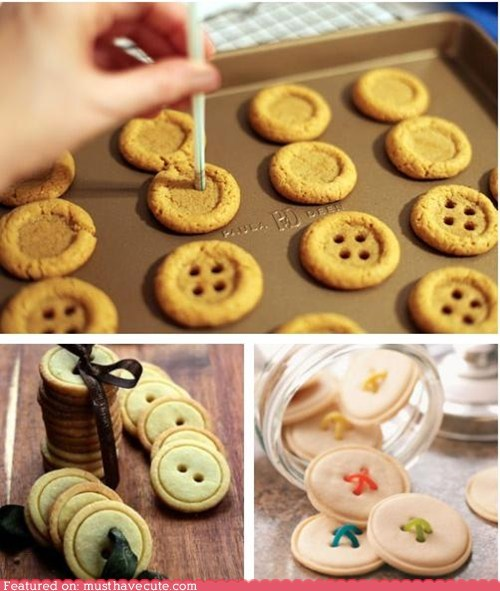 buttons cookies epicute shortbread - 6513114624