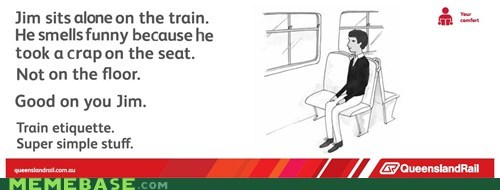 queensland rail train etiquette - 6513376256