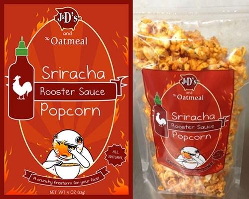 life-altering sriracha cr,life-altering sriracha creation,sriracha,sriracha popcorn