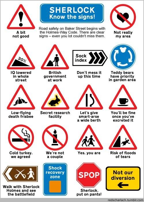 bbc,Sherlock,signs