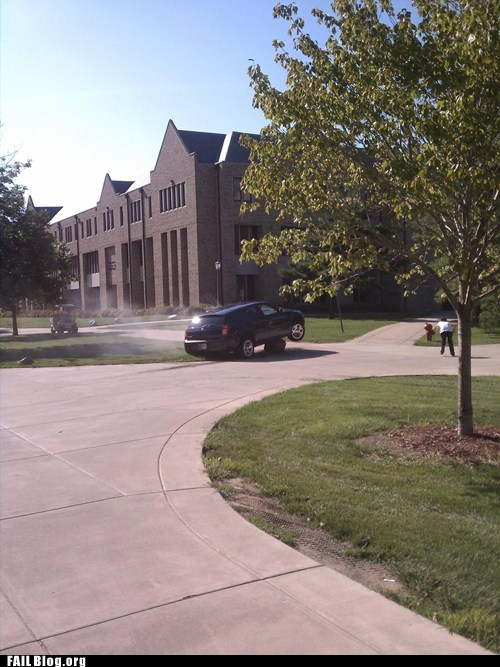 car college campus driving rock - 6513864192
