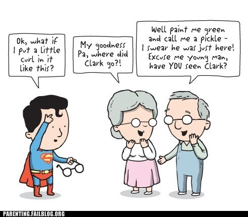 comic,parents,superman