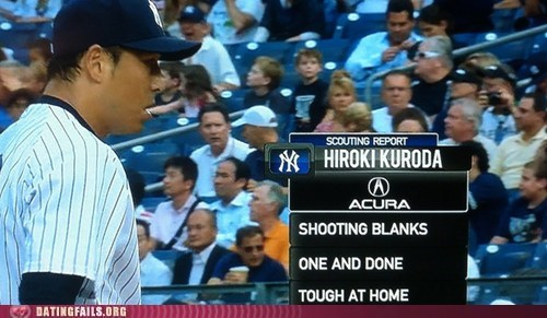 hiroki kuroda major league baseball one and done shooting blanks tough at home - 6513875712