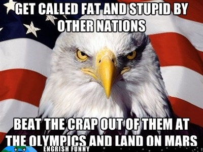 america,London 2012,Mars,merica,MERIKA,murrika,number one,olympics,patriotism,rednecks