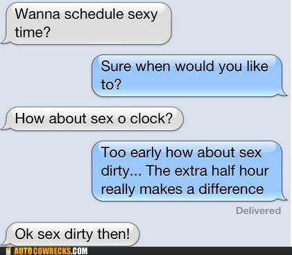 AutocoWrecks scheduled sex dirty sex o clock sexytimes - 6513939968