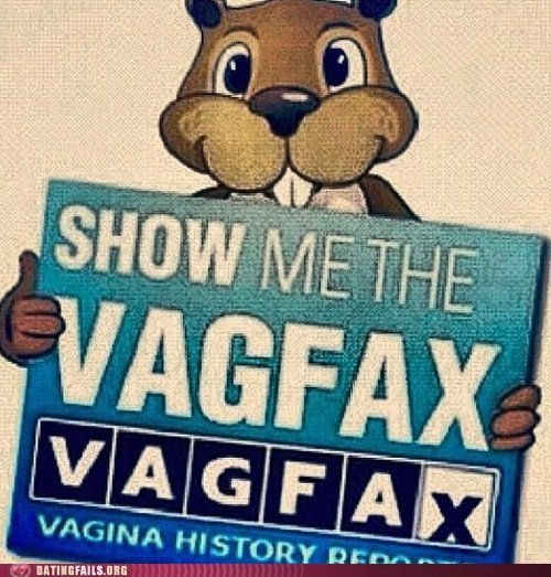 show me the carfax,squirrel,STDs,vagfax
