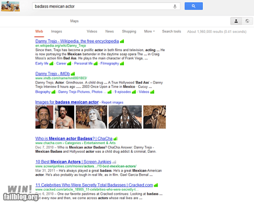 acting,BAMF,celeb,clever,google,google search