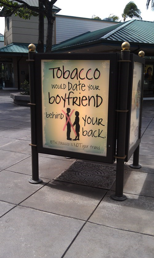 behind your back cheating skank tobacco - 6514356480