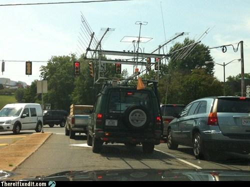 antenna ham radio radio suv - 6514369536