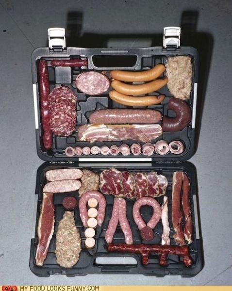 case meat sausage steak - 6514426624