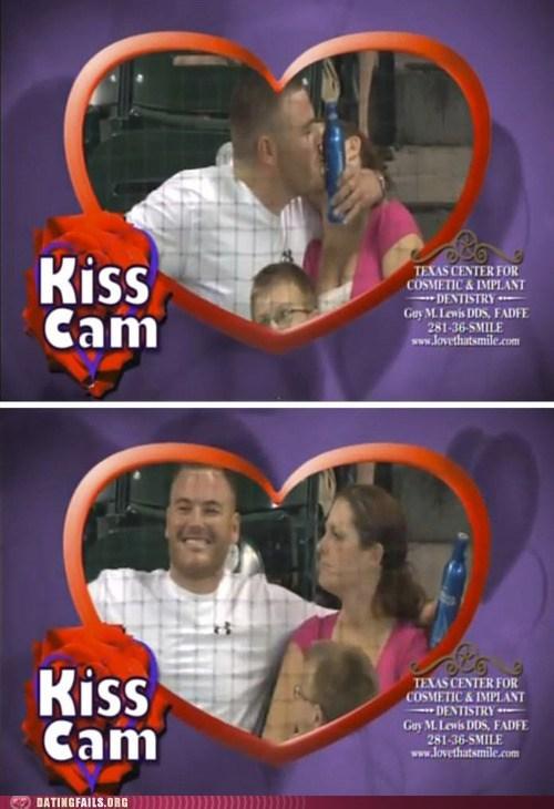 beer,KISS,Kiss Cam,true love