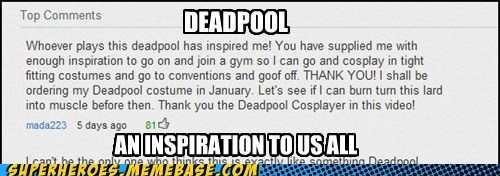 deadpool,inspiration,work out