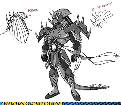 art,awesome,concept,shredder,triceratops