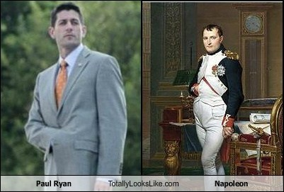 Paul Ryan Totally Looks Like Napoleon
