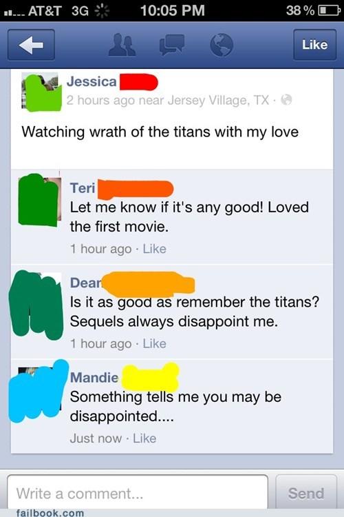 denzel washington remember the titans wrath of the titans Zeus
