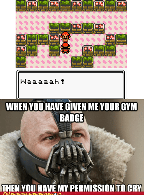 bane cry gym leader Memes miltank rollout whitney - 6516381184