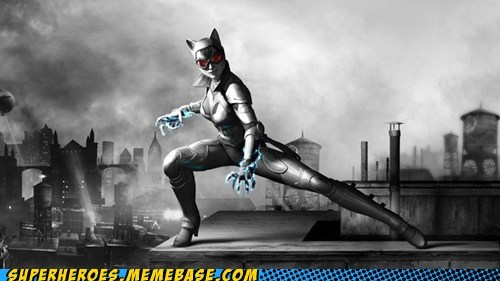 armor catwoman video games