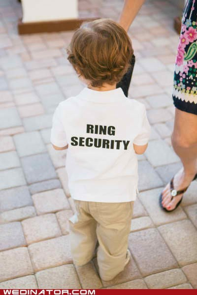 children,funny wedding photos,kids,ringbearer,rings