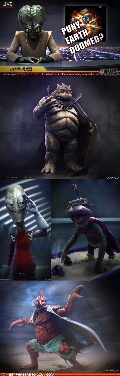 Aliens creepy Fan Art futurama realistic Zoidberg - 6516926464