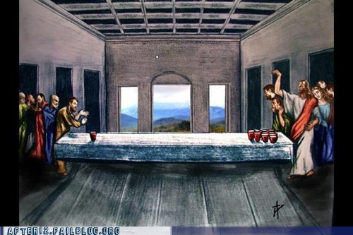 Dammit, Jesus, Stop Turning the Water Cups Into Wine!