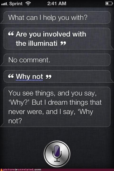 apple,dreams,illuminati,iphone,siri,smart phones