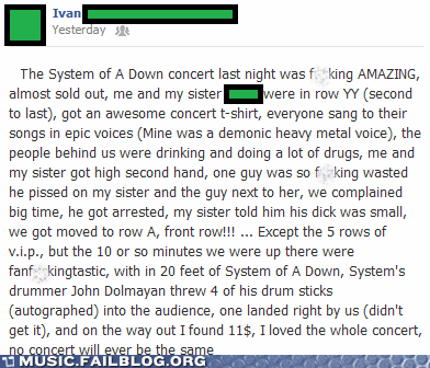 concert live system of a down - 6517031680