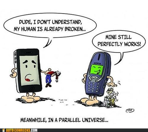 broken,delicate,iphone,nokia,parallel universe