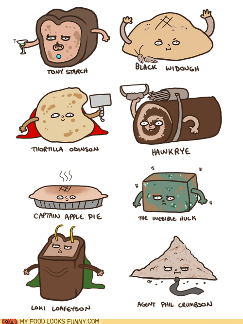 avengers bread characters - 6517233408