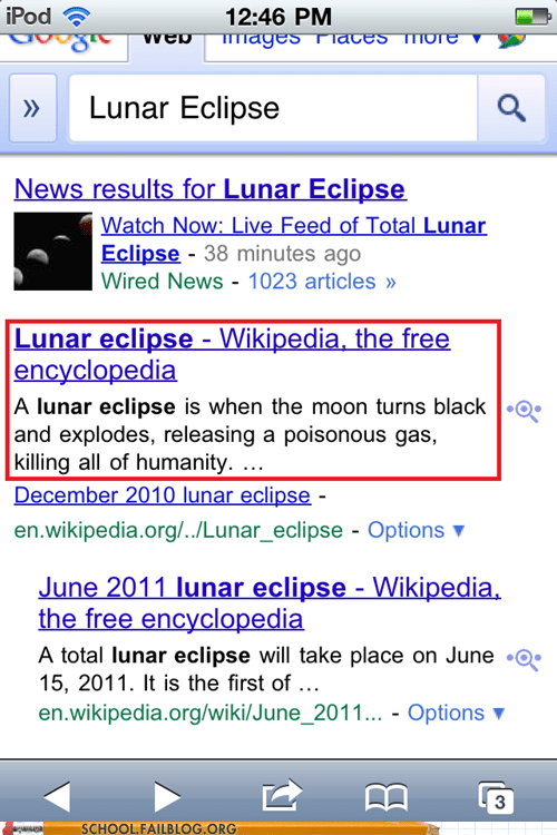 google lunar eclipse space the moon