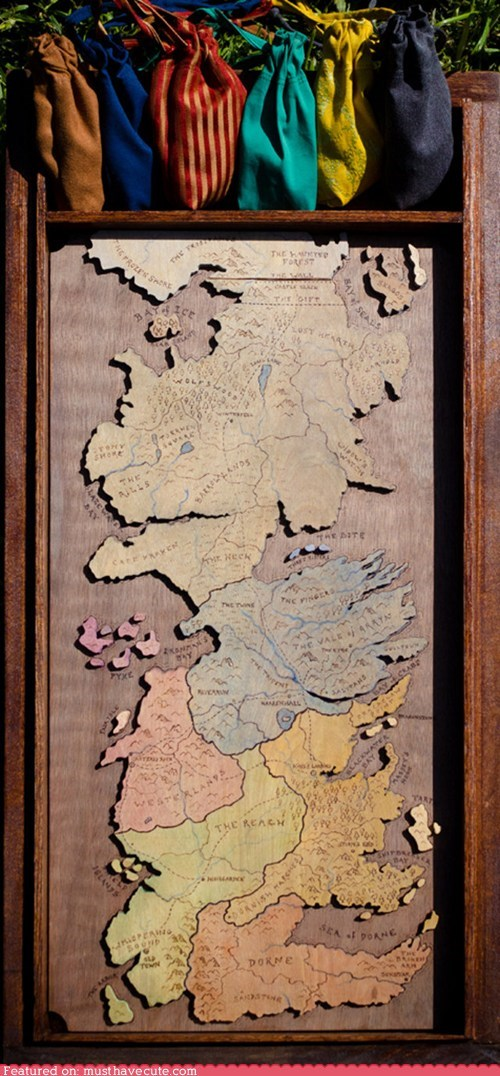 game Game of Thrones risk Westeros wooden - 6517340160