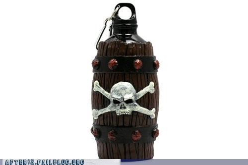 barrel jolly roger neatoshop pirates power goblets Rum